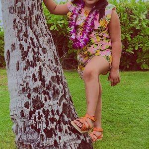 Hawaiian romper